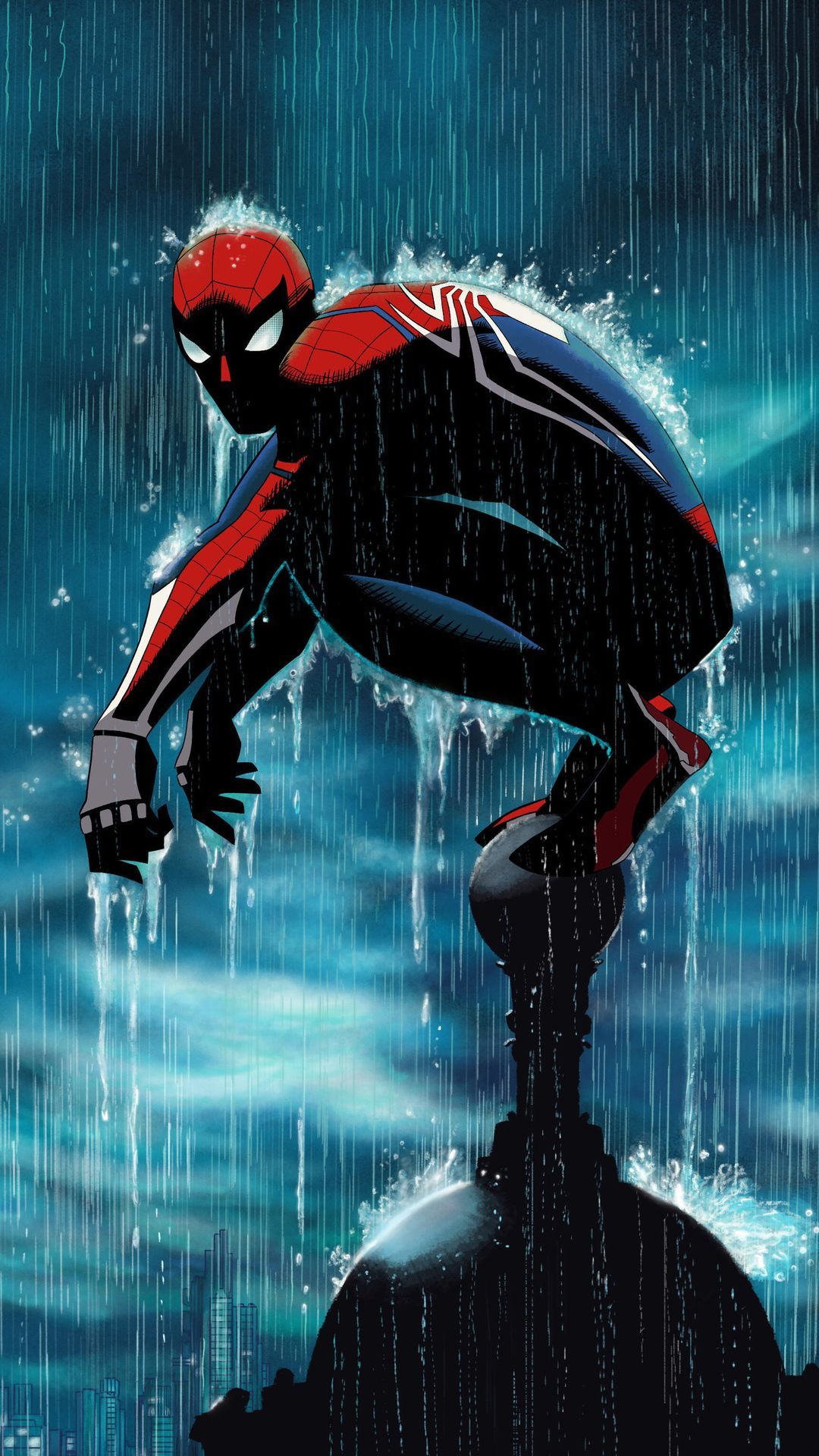 Peter Parker Spiderman Mobile Wallpaper (iPhone Android
