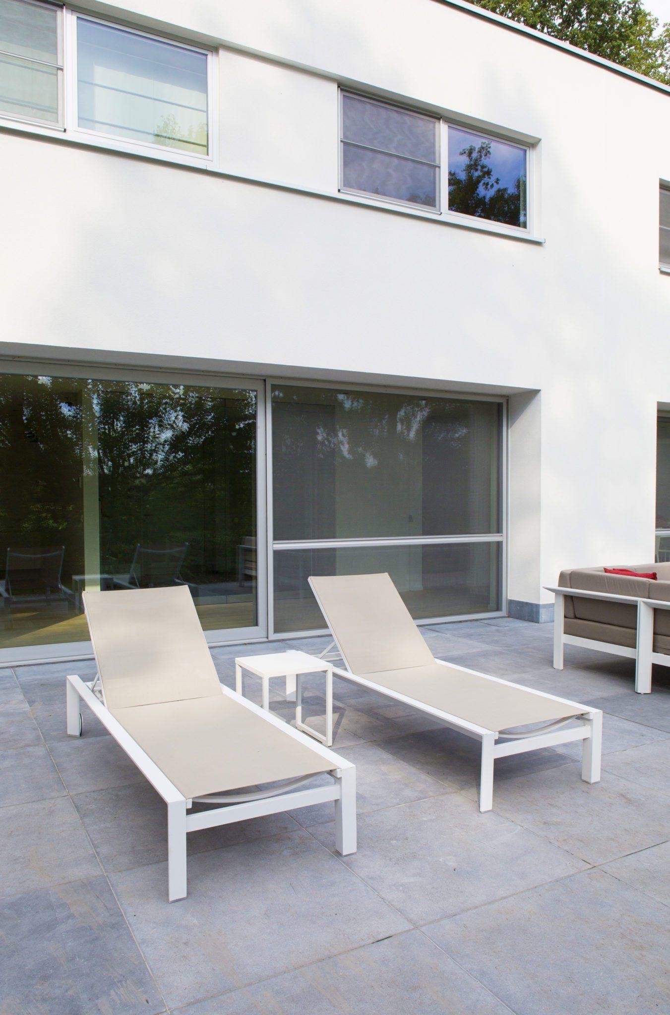 Aluminium Sun Lounger Outdoor Furniture Pool Patio Furniture