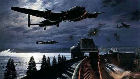 Image result for paintings dambusters