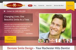 New Health Care Services added to CMac.ws. Dentate Smile Design in Rochester Hills, MI - http://health-care-services.cmac.ws/dentate-smile-design/16805/