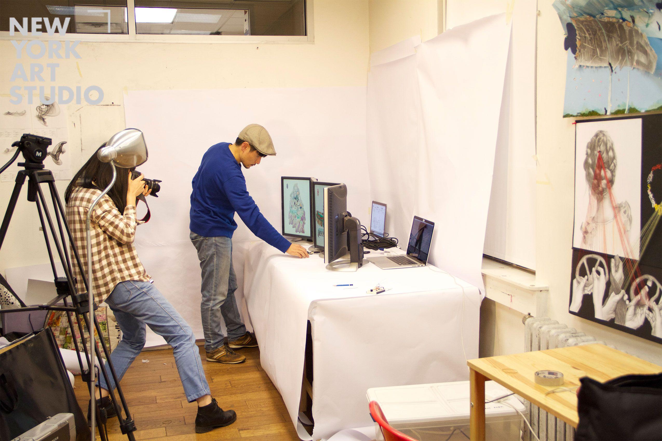 Computer art interactive media graphic design portfolio