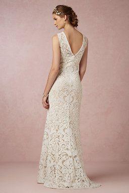 Wedding Dresses | Simple, Vintage Wedding Gowns & Dresses | BHLDN