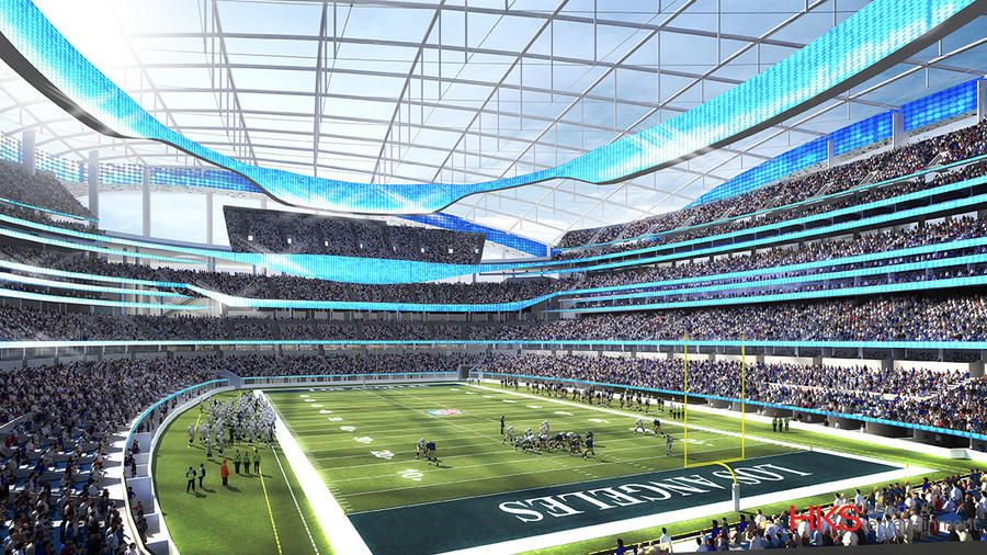 Design Inglewood Nfl Stadium Nfl Stadiums Sports Stadium Football Stadiums