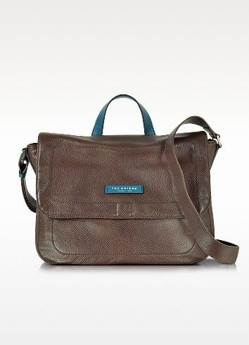 51db3da4ee THE BRIDGE Plume Mix Uomo Dark Brown Leather Reporter Bag.  thebridge  bags   shoulder bags  hand bags  leather
