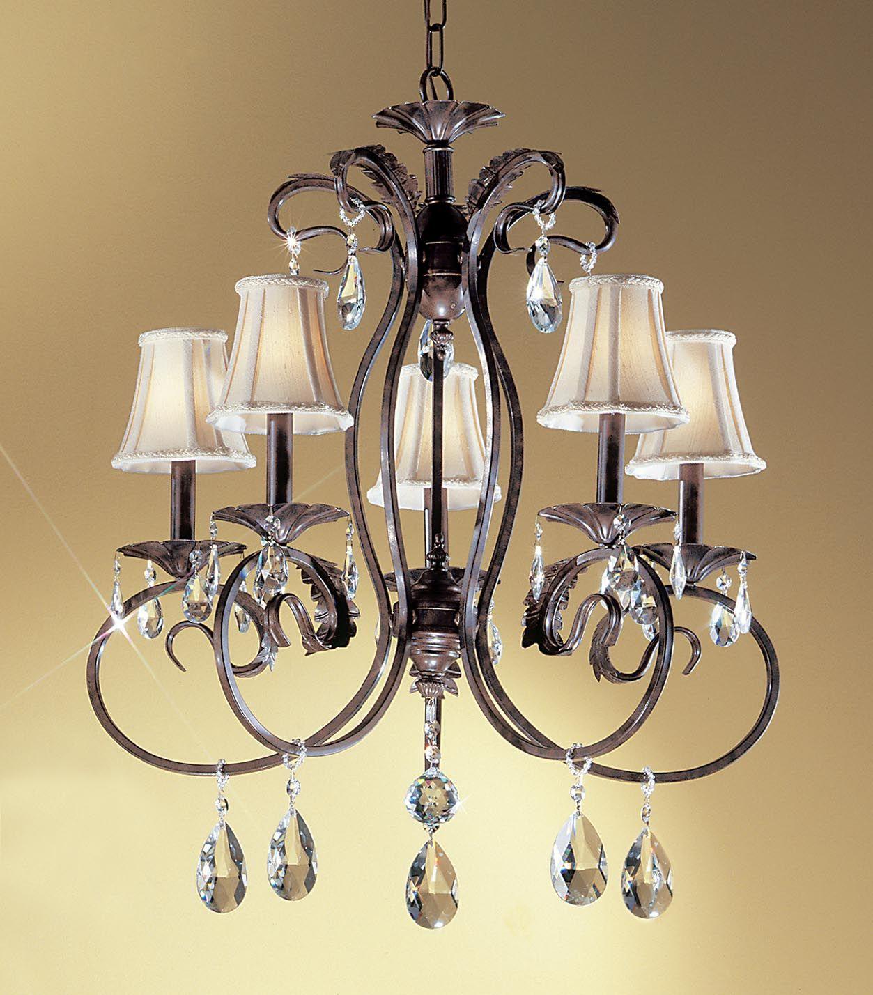 C135 68315 eb by classic lighting manilla ii 5 lights chandelier c135 68315 eb by classic lighting manilla ii 5 lights chandelier english bronze finish arubaitofo Gallery