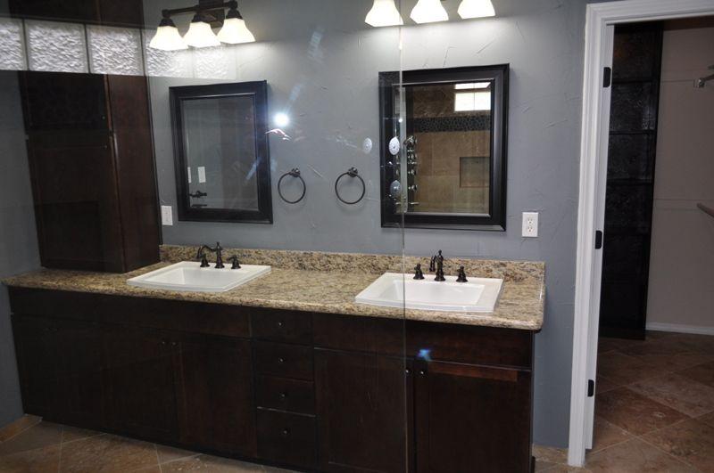 High Star Dallas Master Bath Remodel Grey Walls Grey