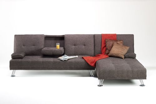 Stanford L Shape Corner Sofa Bed With Lift Up Storage Light Grey Linen Fabric House Furniture Design Furniture Living Room Sofa Set