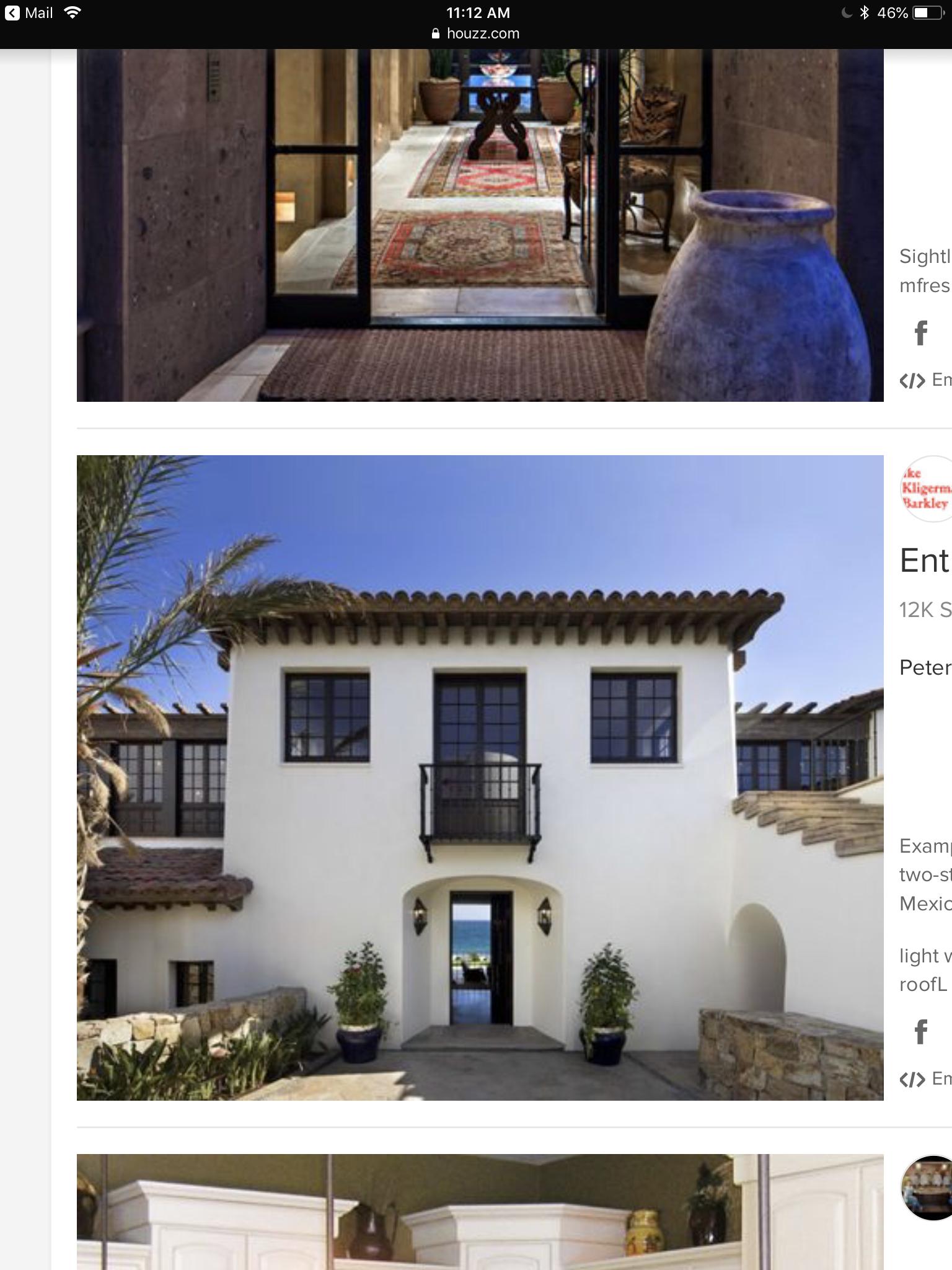 Like,The Roof Detail, Windows, Balcony, Stucco