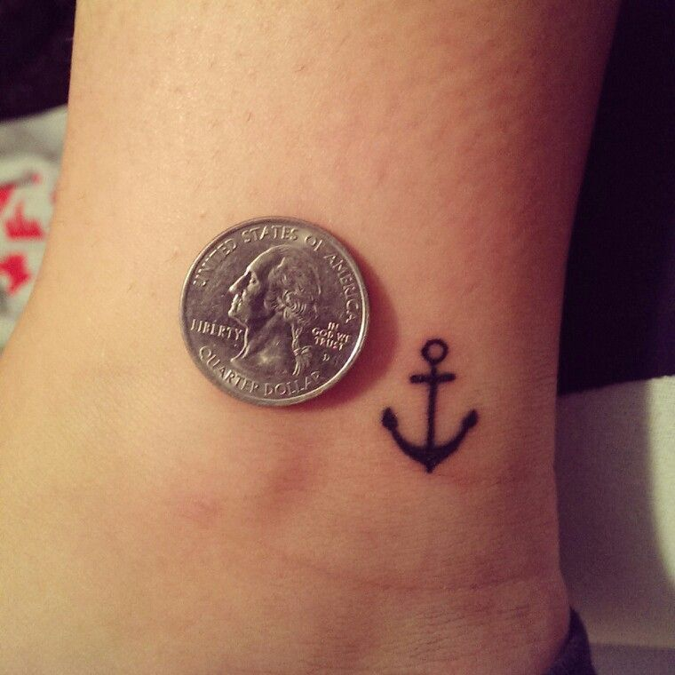 Small Anchor Tattoo Designs Simple: Small Tattoos, Small Tattoos
