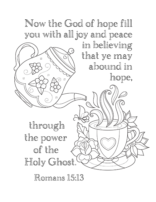 Coloring Book Bible Verses : Romans bible study week 2 part chapters 4 6 stress reliever