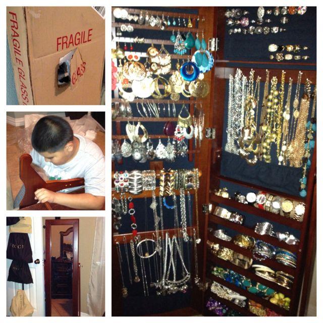 Finally organized my jewelry!