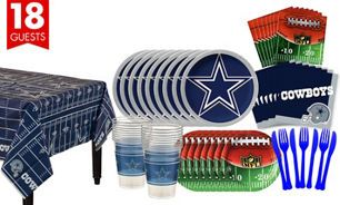 Dallas Cowboys Super Party Kit for 18 Guests  65ee85c5b