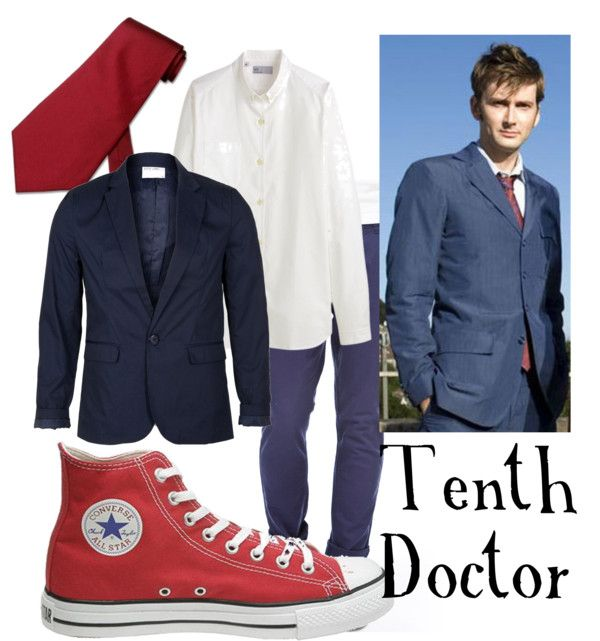 Tenth Doctor for men Converse vintage shoes, $45White Label