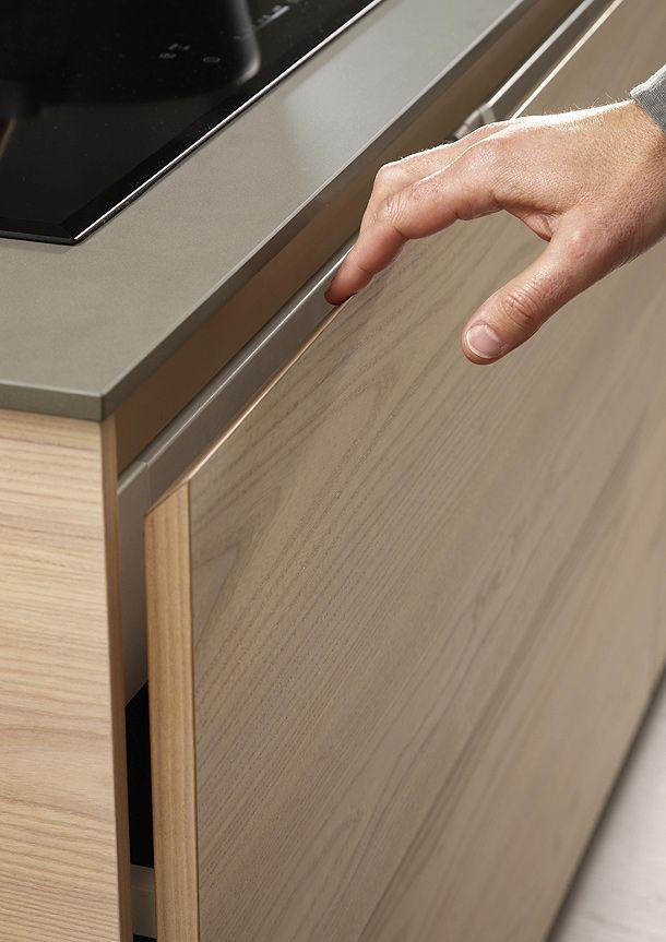 Nueva serie 45 de Dica funcionalidad y minimalismo en la cocina - mueble minimalista