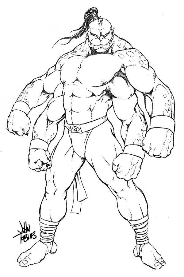 Mortal Kombat Coloring Pages   illustration   Pinterest   Mortal kombat