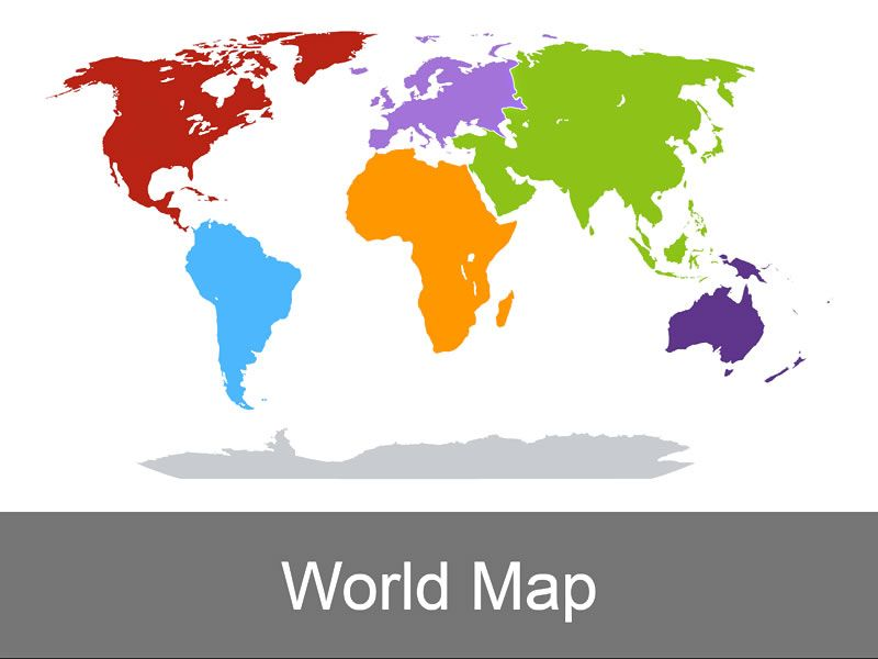 This visually appealing and vibrantly colored world map from muezart this visually appealing and vibrantly colored world map from muezart is vector and fully editable gumiabroncs Gallery