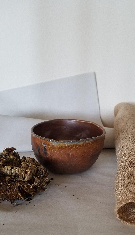 Small Brown Ceramic Planter Ceramic Planters Decorative Bowls Planters