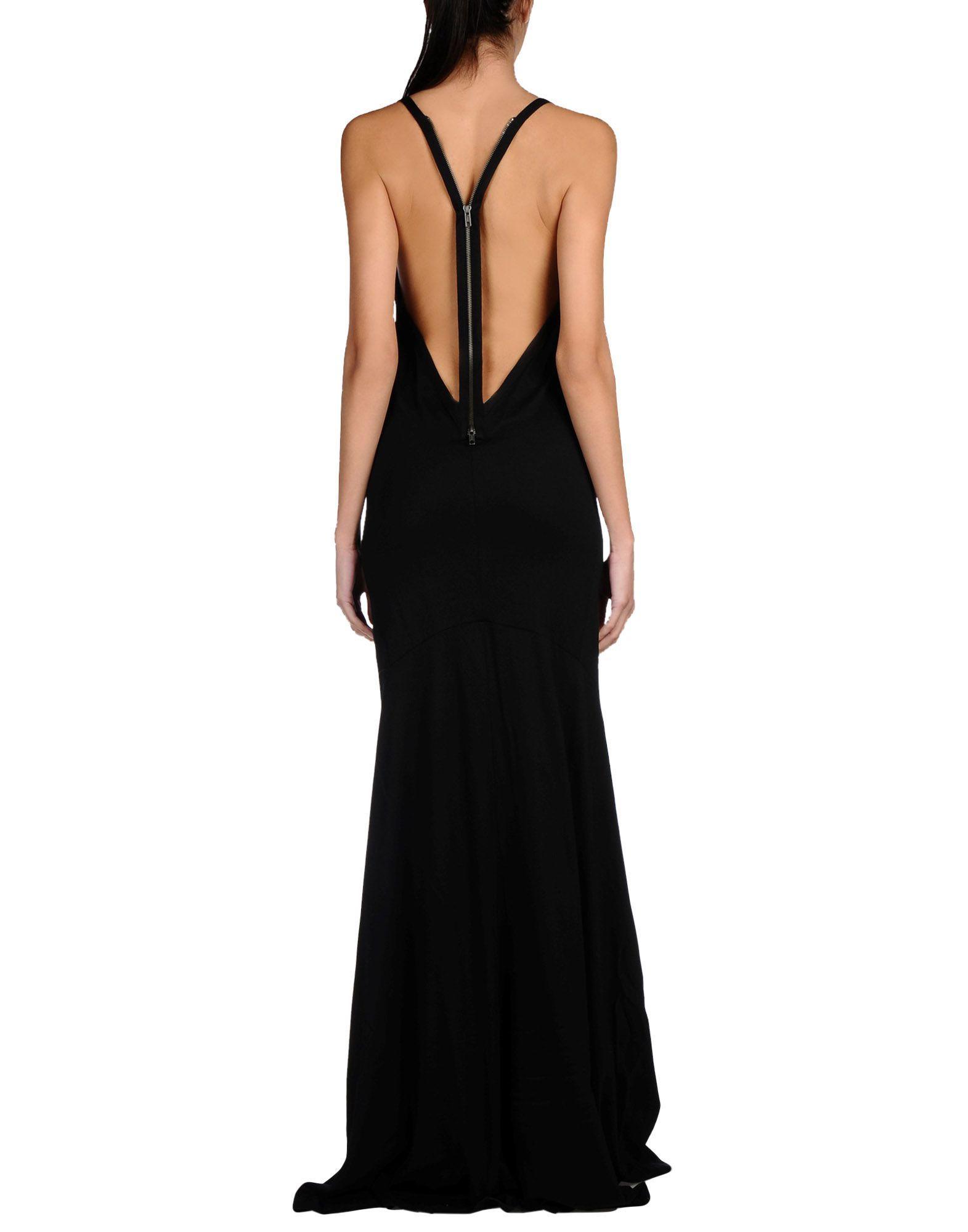 Ann Demeulemeester Langes Kleid Damen - Lange Kleider Ann Demeulemeester auf YOOX - 34694203PB