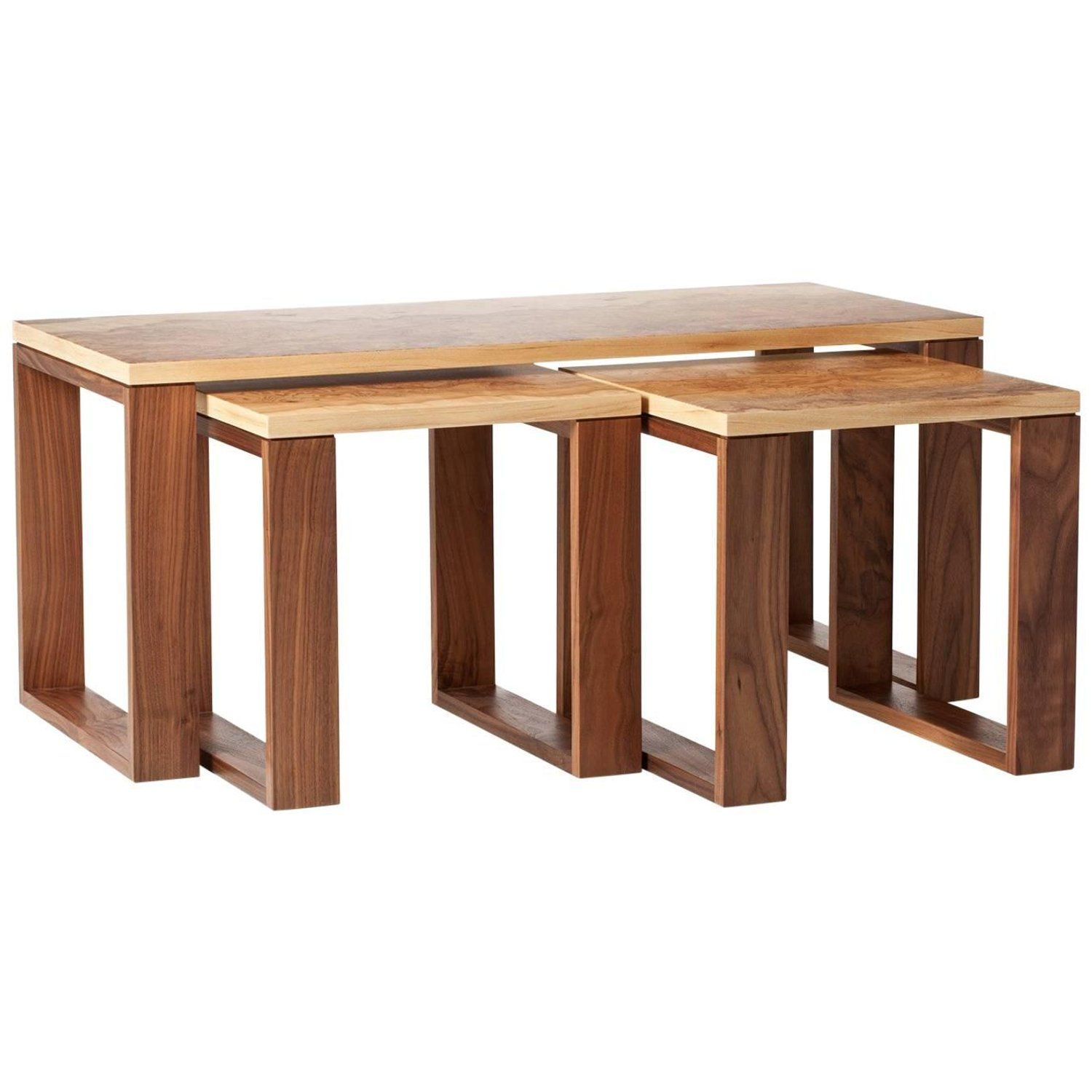 Nest Of Tables Nesting Tables Table Lacquer Dining Table
