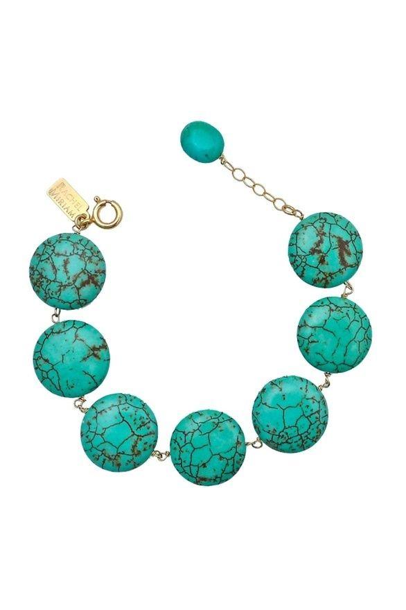 Flat Stone Turquoise