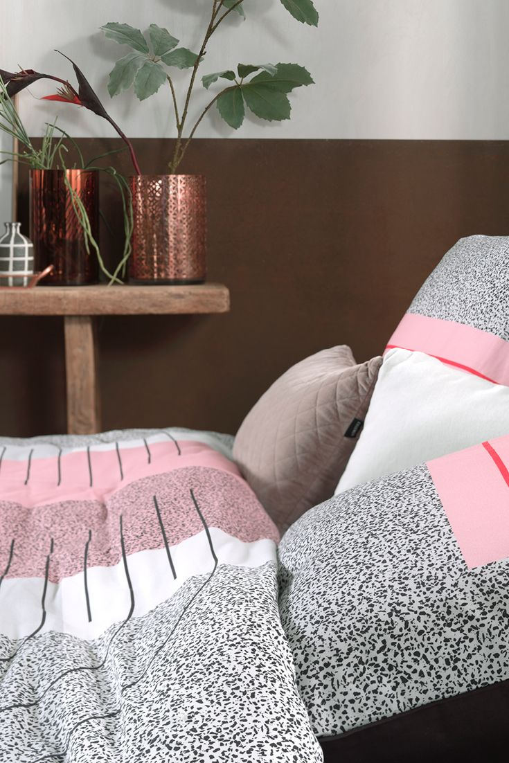 Slaapkamer idee: Roze in je #slaapkamer! Het fluffy, schattige roze ...