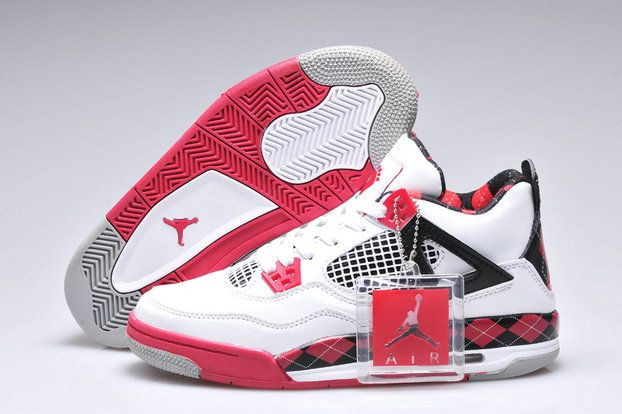 Authentic Cheap Air Jordan 4 Discount red white woshoe jordan retro 4 iv on  sale