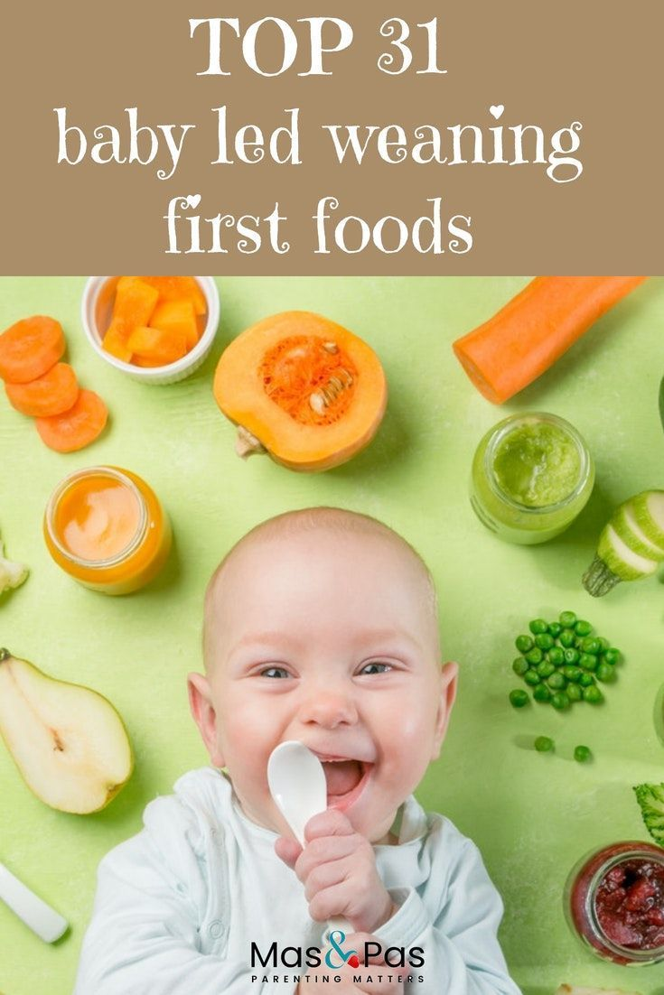 BLW first foods – 30 top baby led weaning starter foods