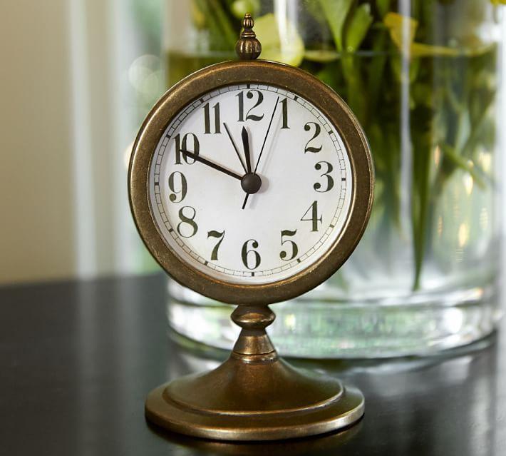 Chrysler Brass Desktop Clock Desktop Clock Clock Clock