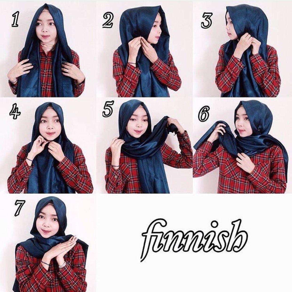 Tutorial Hijab Rawis Simple Untuk Remaja