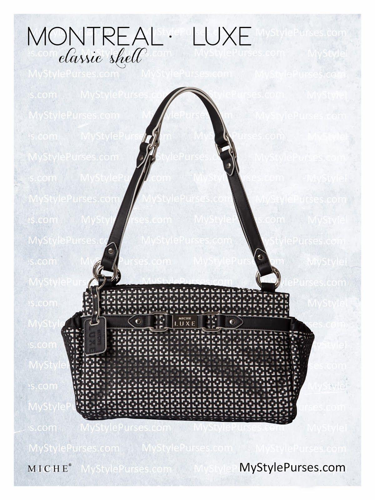 Miche Luxe Montreal Classic Handbag Shell Mystylepurses