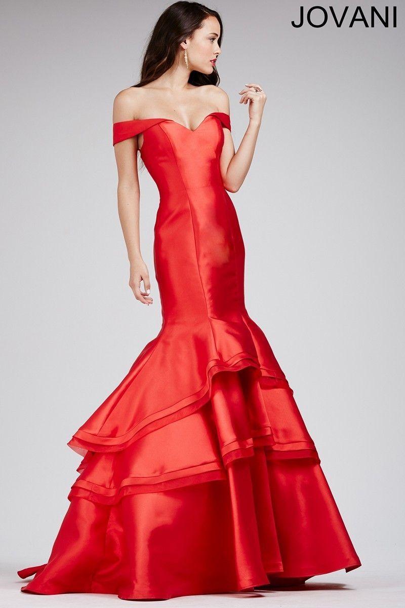 This trumpet skirt Jovani 31100 prom dress captures the spirit of ...