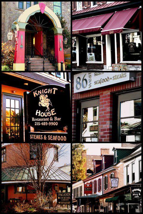 Dining Spots in Doylestown, PA by Mai A. Hazlett
