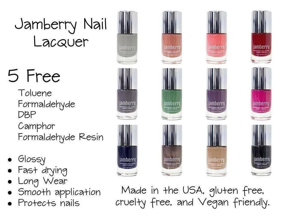 Jamberry Nail Lacquer 5 Free polish. Its awesome :) http ...