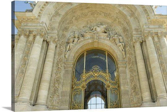 Low angle view of a museum, Petit Palais, Paris, Ile-De-France, France