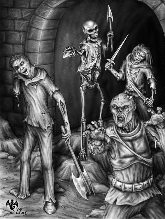 Undead Encounter by ~Sheblackdragon on deviantART