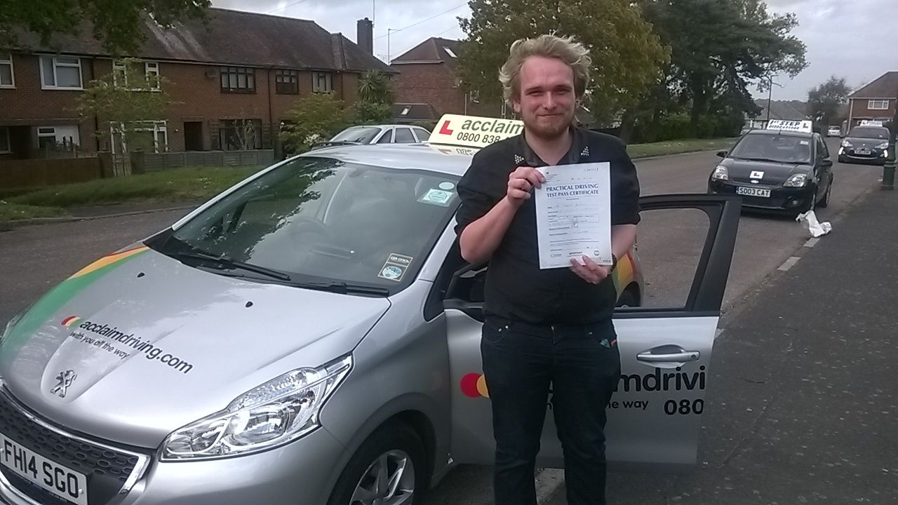 Well done to Tim Randle who passed at the first attempt in Bournemouth with Doug Moseley!