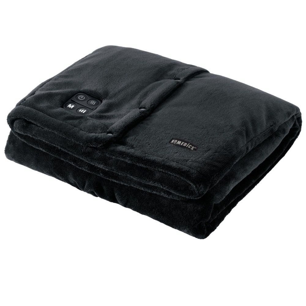 Cordless Throw Cape With Soothing Heat Vibrating Massage In 2020 Heated Throw Traditional Throws Heated Blanket