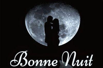 Bonne Excellente Nuit Sur Une Lune Damour Nuit Bonne