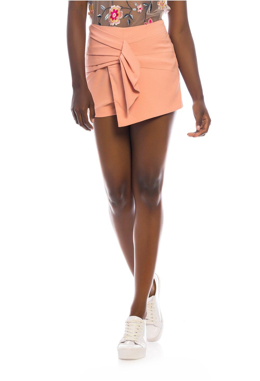 4d5b0f46b Falda short unicolor en 2019   outfits   Falda short, Faldas y Moda