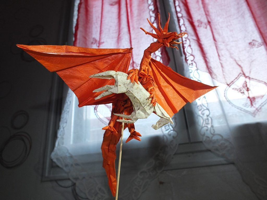 27 Spectacular Western Style Origami Dragons Origami Ancient Dragon Ancient Dragon Origami Dragon