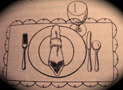 etiquette proper table setting- family style & etiquette proper table setting- family style | It\u0027s in the Details ...