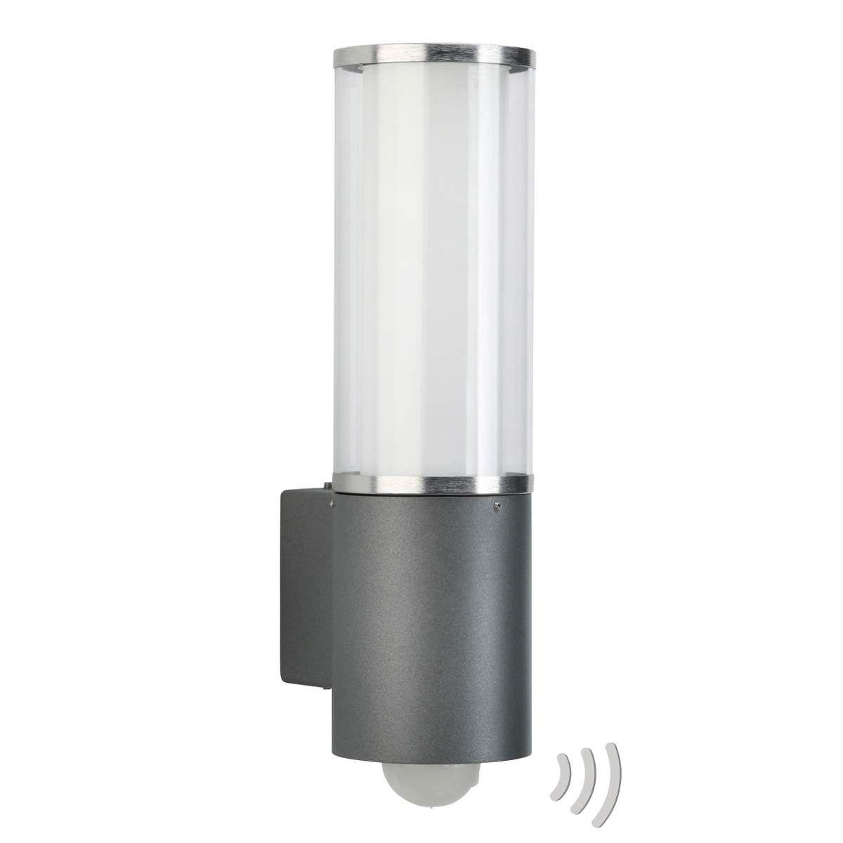 Aussen Wandleuchte Elettra Mit Bewegungsmelder Von Albert Leuchten Albert Leuchten Lampe Mit Bewegungsmelder Wandleuchte