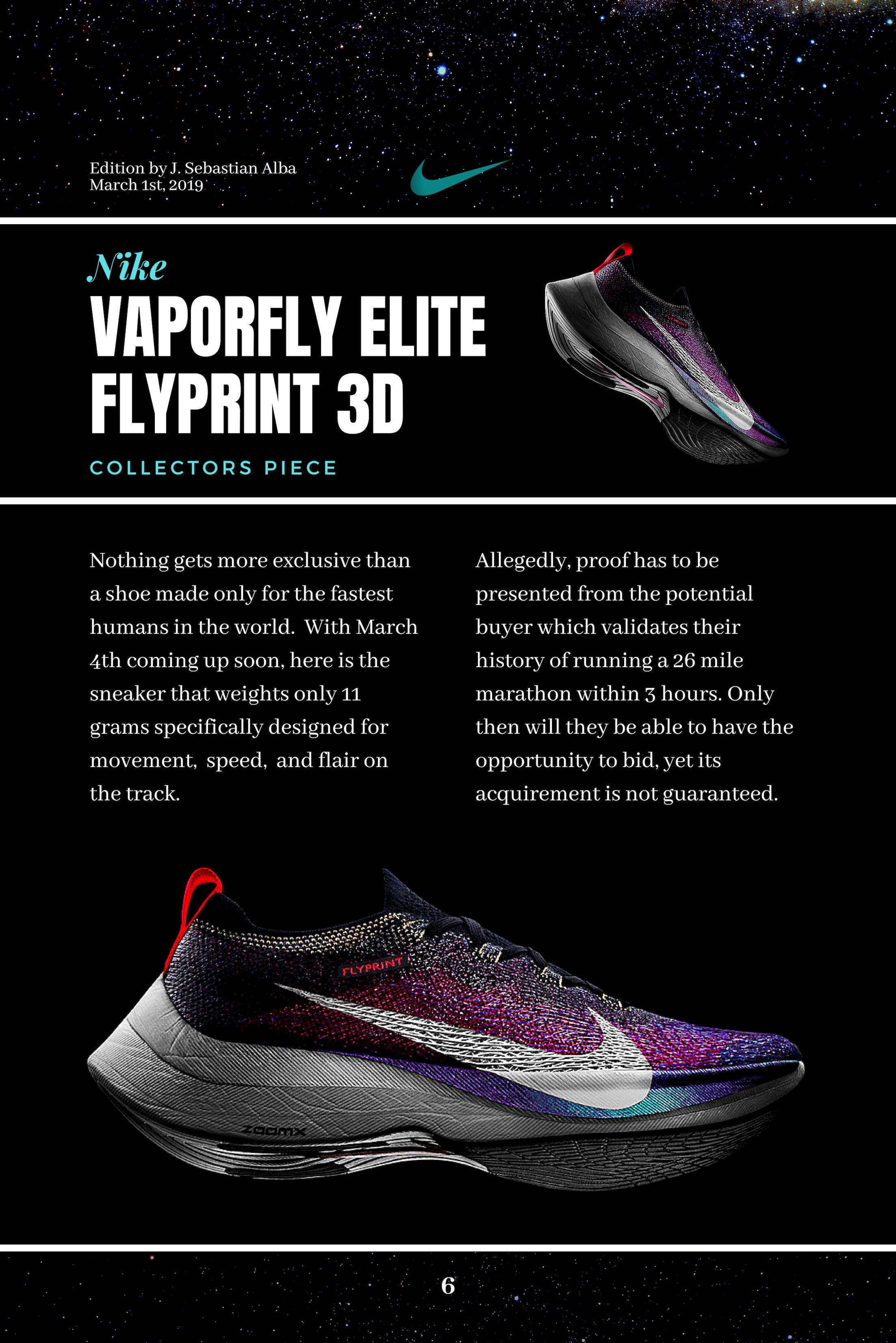 Nike VaporFly Elite Flyprint 3D | Sport