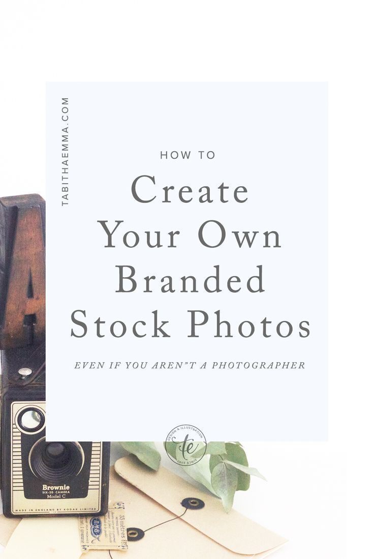 How to Start your own Personal Branded Stock Photo Library