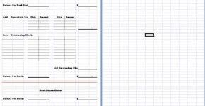 Bank Reconciliation Template Download Free  Word Business