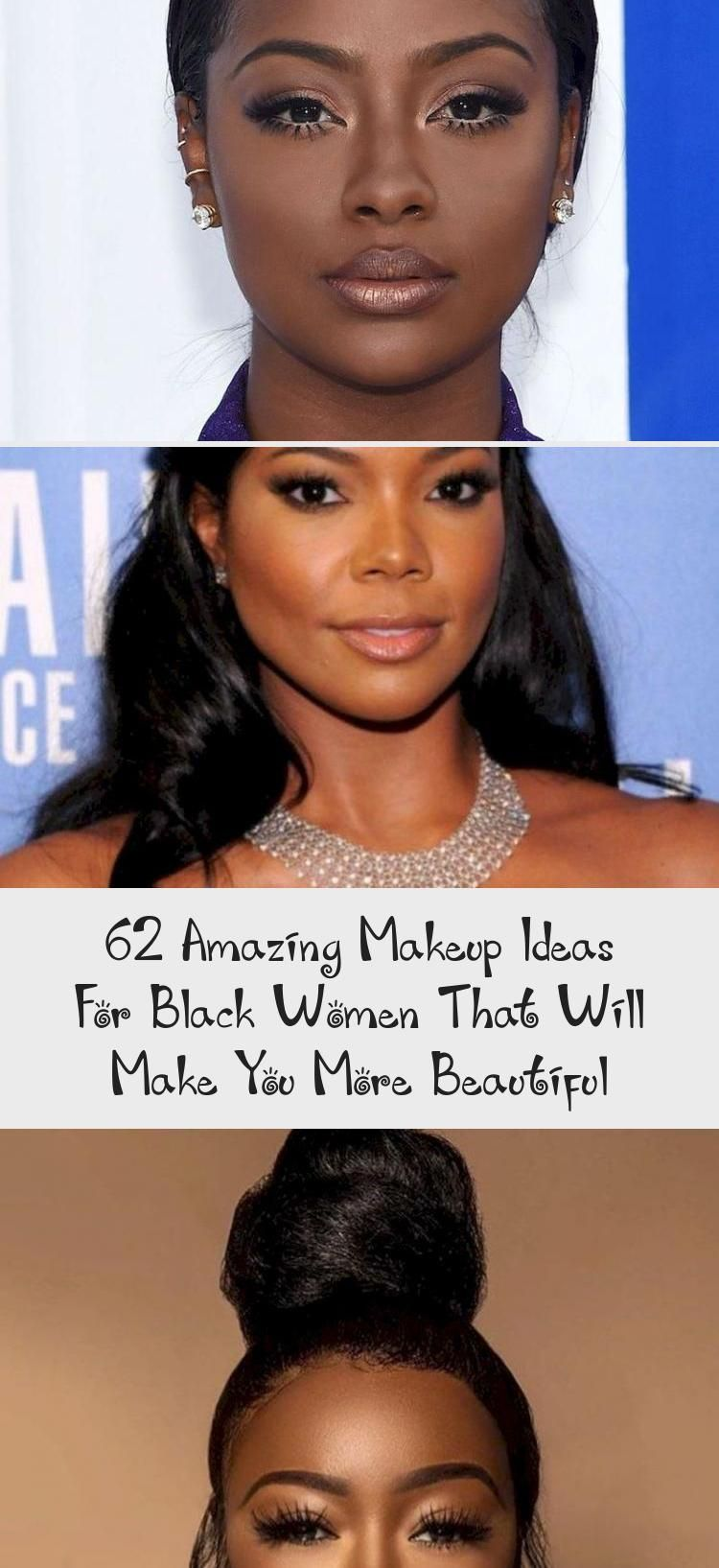 62 Amazing Makeup Ideas For Black Women That Will Make You