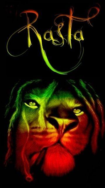 Let Your Colors Shine Bob Marley Art Rasta Lion Rasta Lion Wallpaper