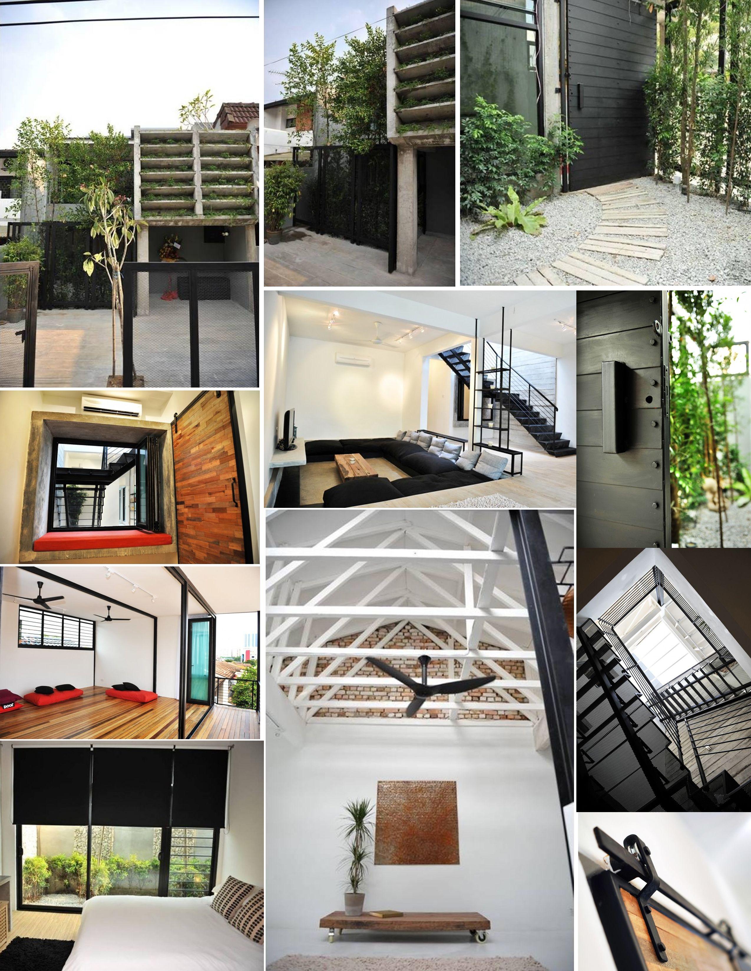 Home Design Ideas Malaysia: Visually Stunning Bangsar Terrace Home By JTJ Design