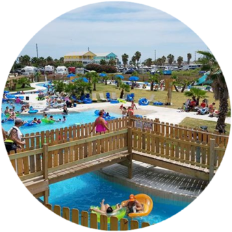 Rates At The Jamaica Beach Rv Resort In Galveston Jamaica Beaches Dallas Travel Best Campgrounds