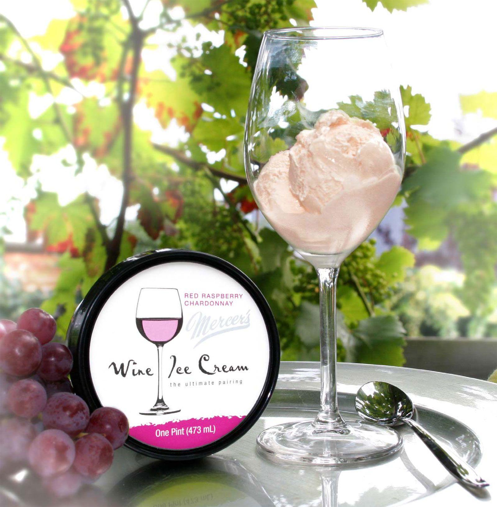 Wine ice cream?! Shut. Up.